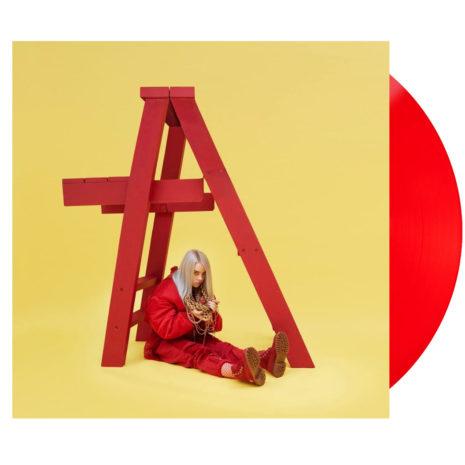 Billie Eilish Don't Smile At Me Red Vinyl