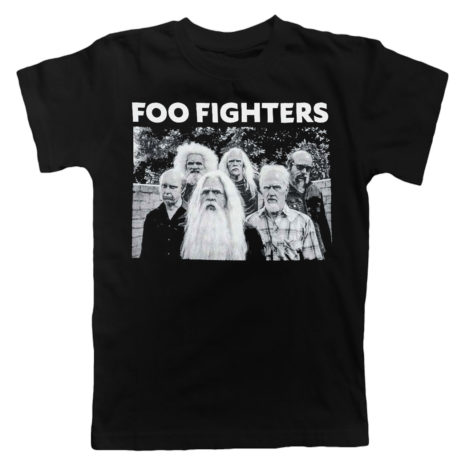 FOO FIGHTERS Old Band Photo