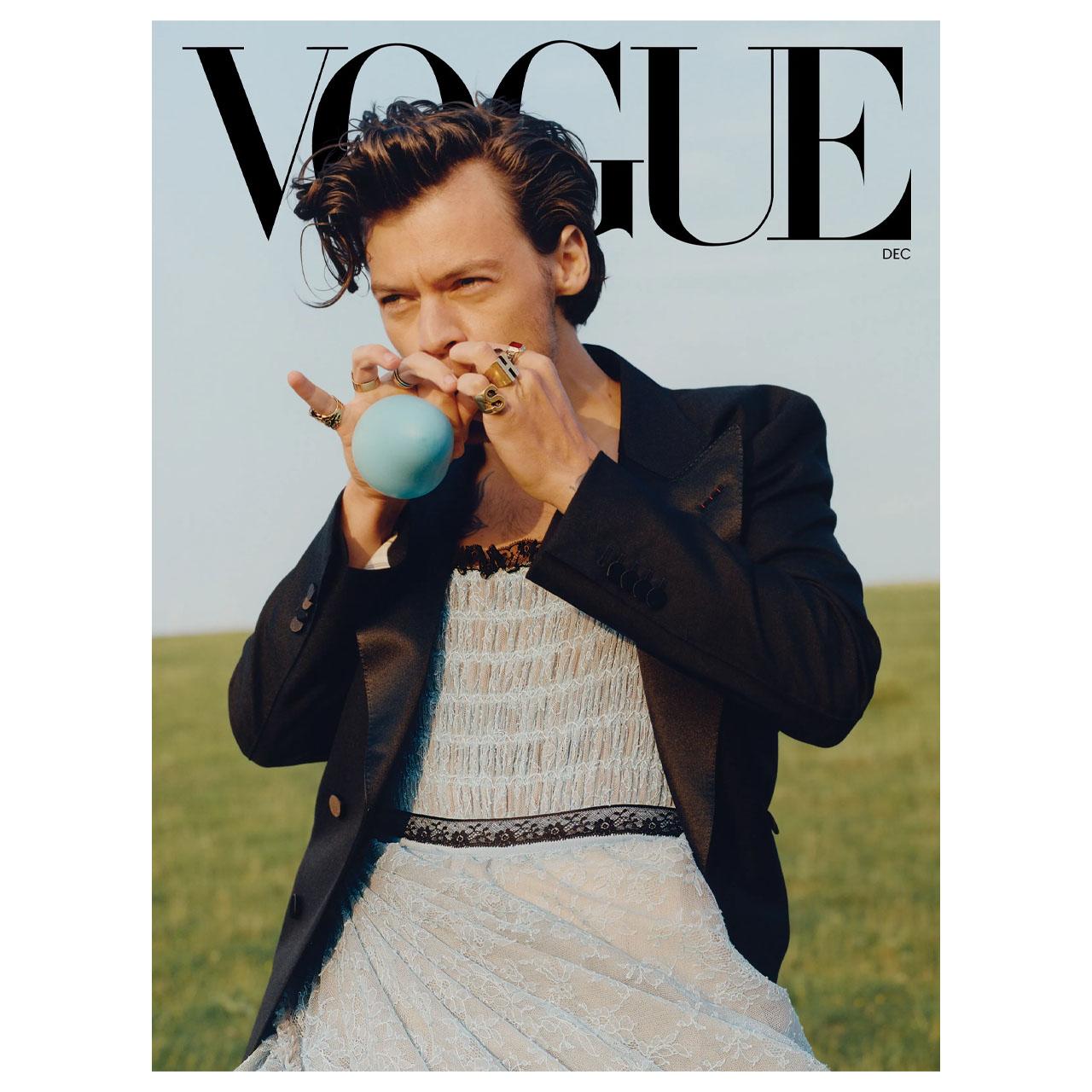 Harry Styles 2020 Vogue Magazine