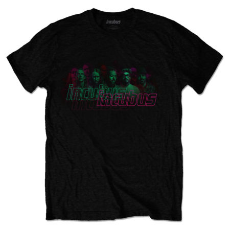INCUBUS 17 Tour Tshirt Front