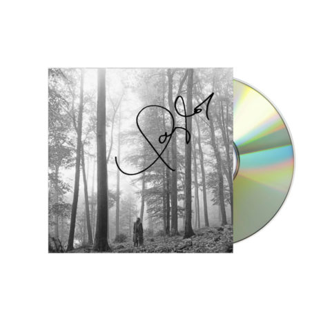 Taylor Swift Folklore Signed CD