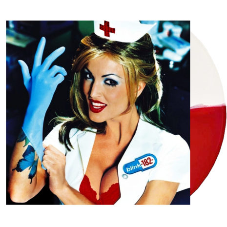 BLINK 182 Enema Of The State White Red Vinyl
