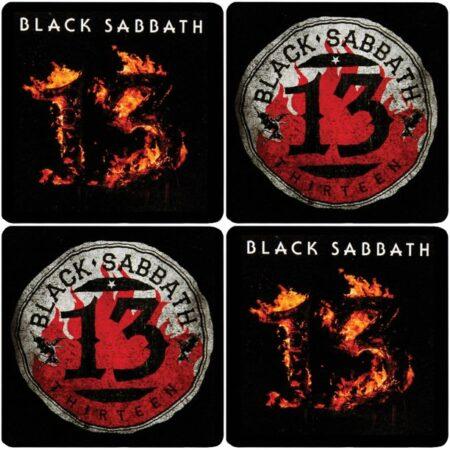 Black Sabbath 13 Coaster Set