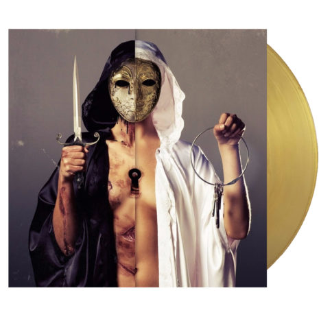 Bring Me The Horizon There Is A Hell Believe Me I've Seen It There Is A Heaven Let's Keep It A Secret Gold Vinyl Ted Ellis