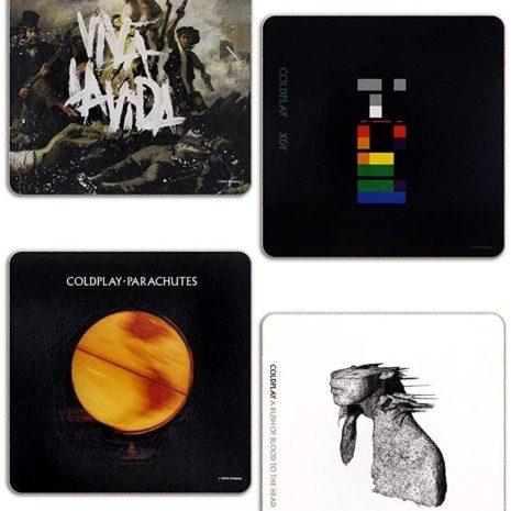 Coldplay Coaster Set