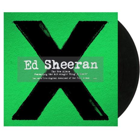 ED SHEERAN X Vinyl