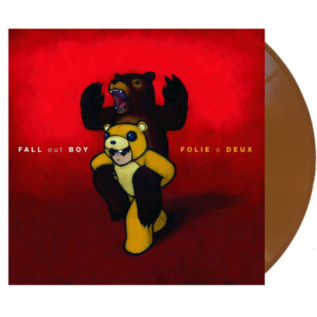Fall Out Boy From Folie a Deux vinyl brown