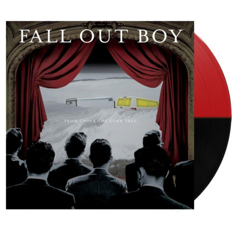 Fall Out Boy From Under The Cork Tree Split Red Black Vinyl