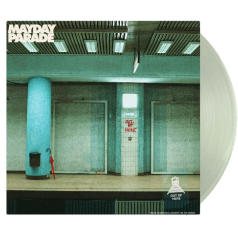 MAYDAY PARADE Out Of Here Alternate Cover Vinyl