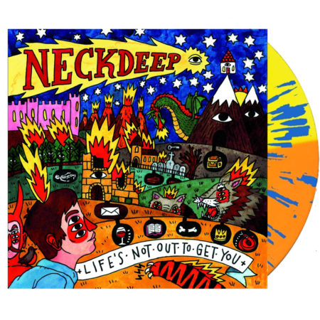 NECK DEEP Life's Not Out To Get You NBC Vinyl