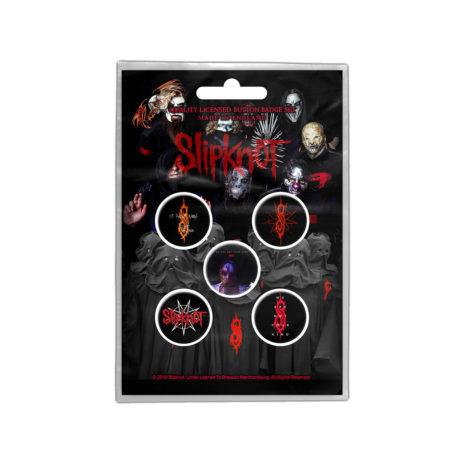 SLIPKNOT WANYK Badge Pin Set