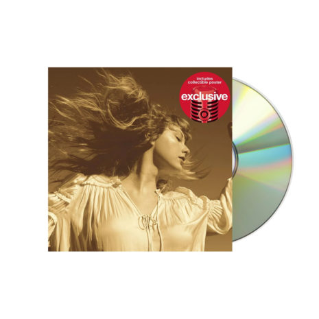 Taylor Swift Fearless Taylor Version Target CD