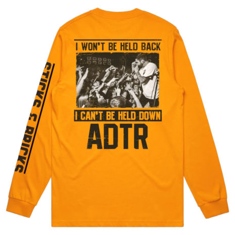 A DAY TO REMEMBER Sticks and Bricks Longsleeve Back