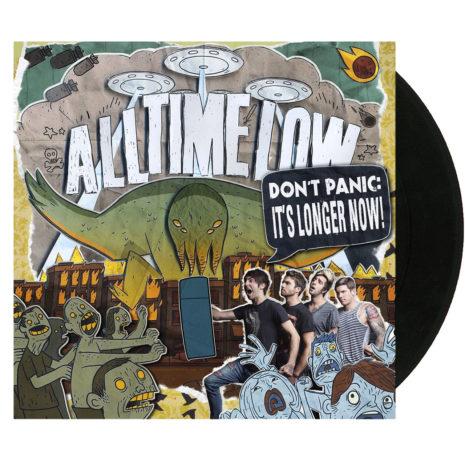 ALL TIME LOW Don't Panic It's Longer Now Vinyl