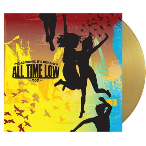 ALL TIME LOW So Wrong It's Right Vinyl