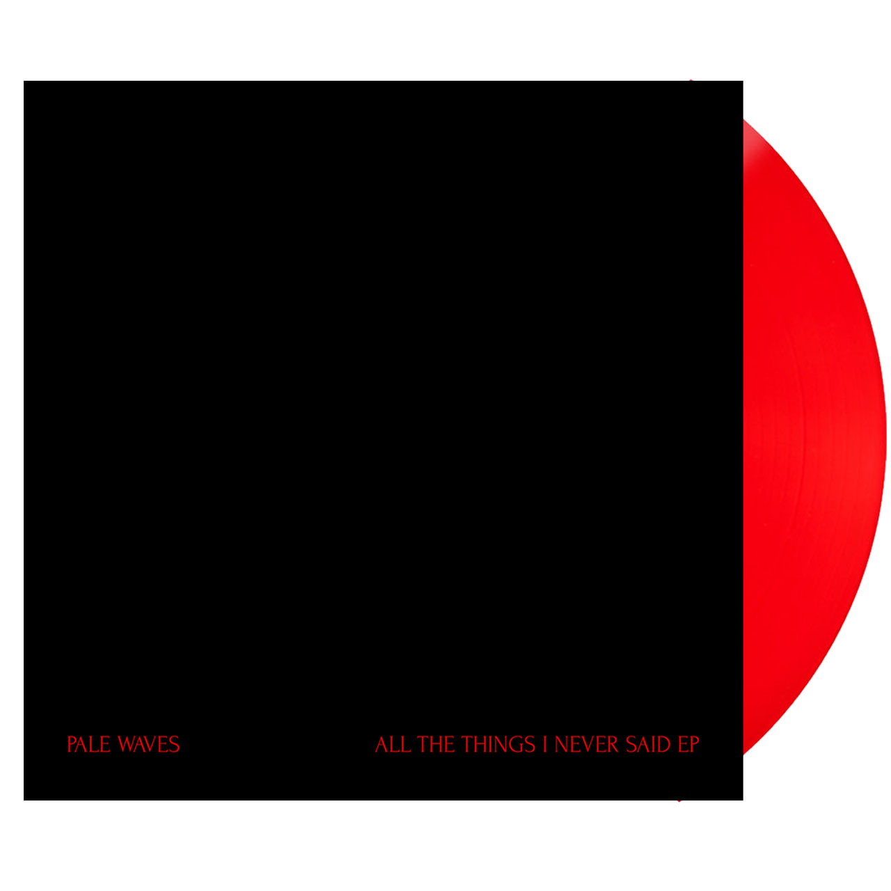 PALE WAVES All The Things I've Never Said EP Vinyl