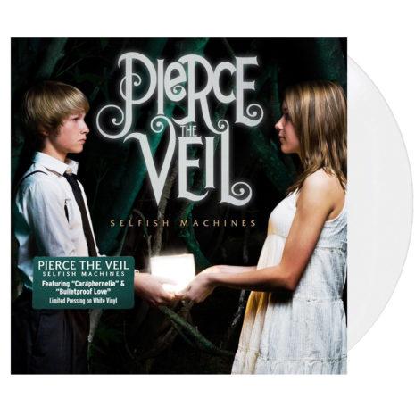 PIERCE THE VEIL Selfish Machines White Vinyl