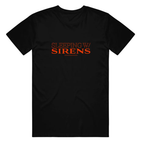 SLEEPING WITH SIRENS Inverse Tshirt Front