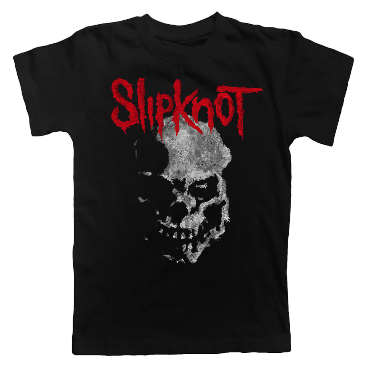 SLIPKNOT Gray Chapter Skull Tshirt