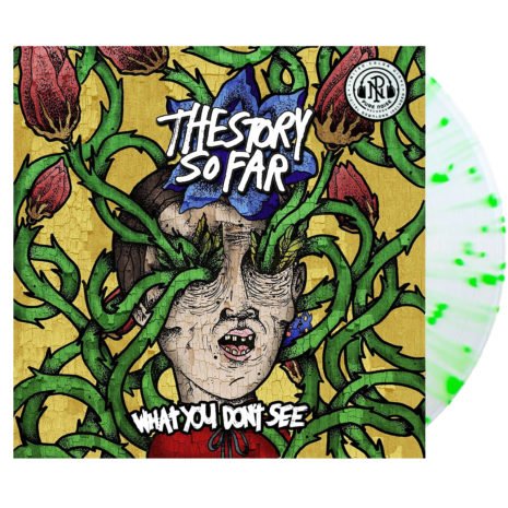 THE STORY SO FAR What You Don't See Yellow Green Splatter Vinyl