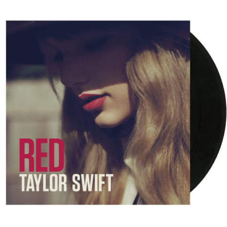 Taylor Swift Red Vinyl LP