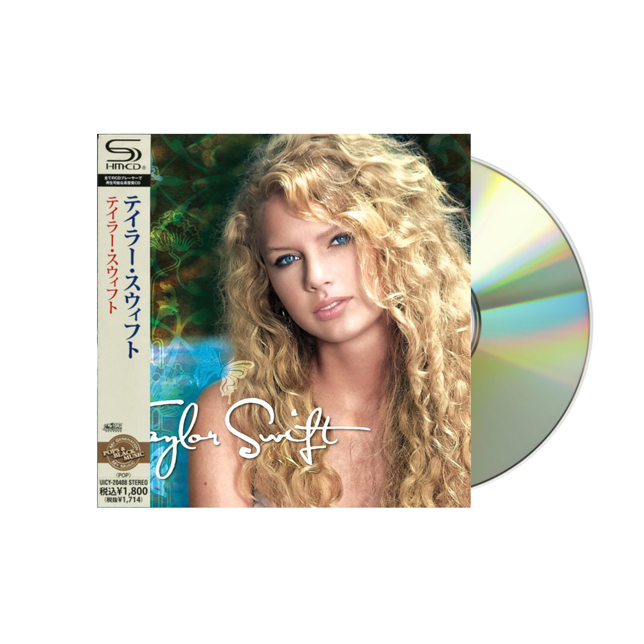 TAYLOR SWIFT Self Titled (Japan) CD