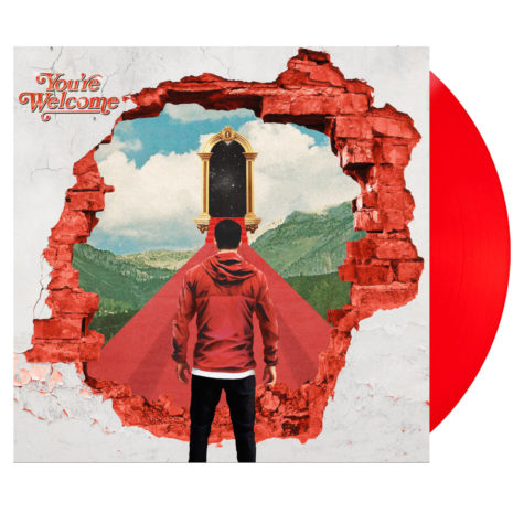 A DAY TO REMEMBER You're Welcome Apple Red Vinyl