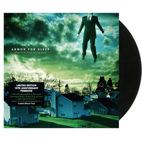 ARMOR FOR SLEEP What To Do When You Are Dead (15th Anniversary) Black Vinyl
