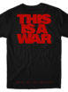BMTH This is A War Red Logo Tshirt Back