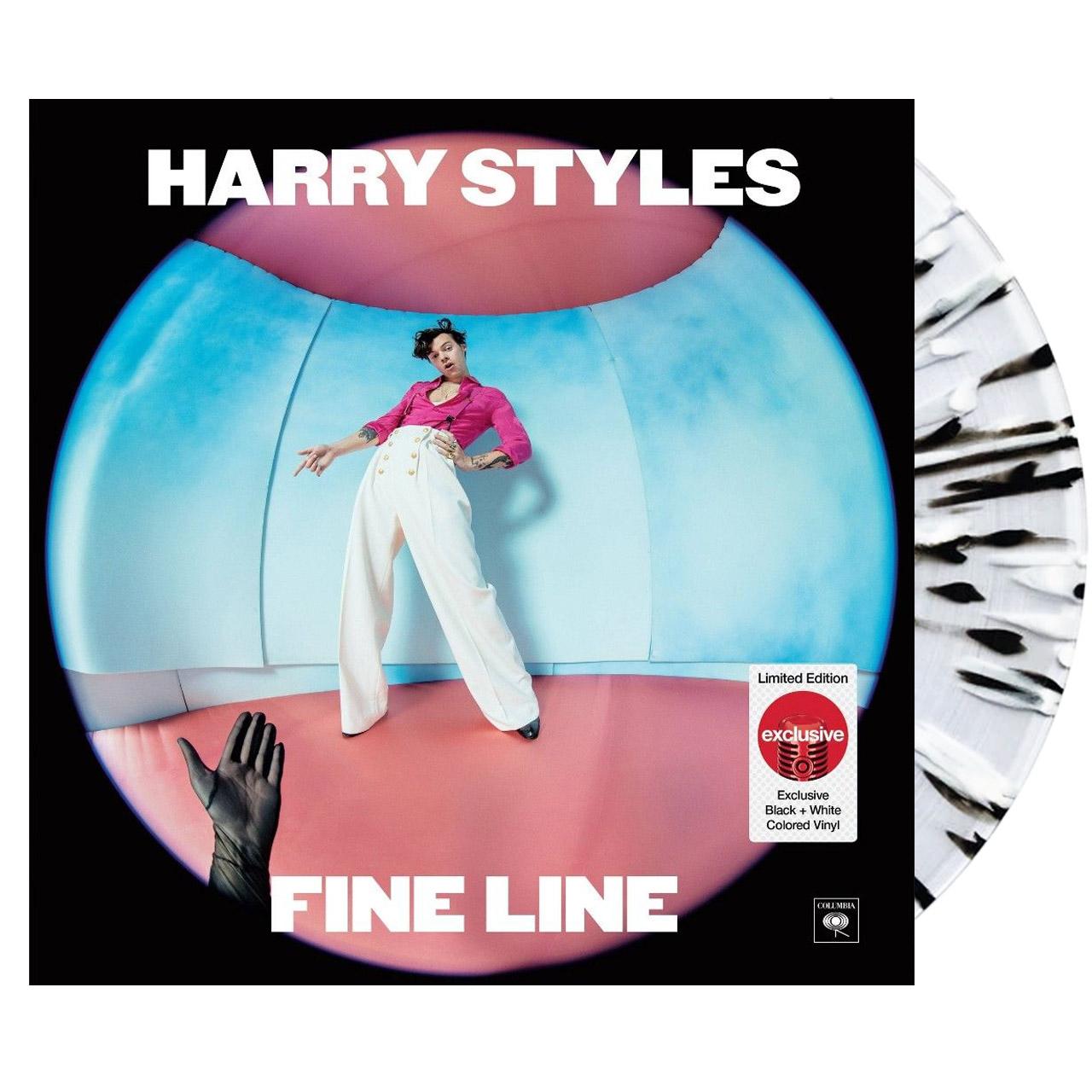 HARRY STYLES Fine Line Target Black/White Vinyl