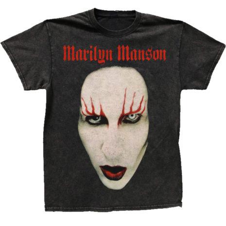 MARILYN MANSON Hollywood Face Vintage Tshirt