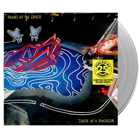 PANIC AT THE DISCO Death Of A Bachelor (FBR 25th Anniversary) Silver Vinyl