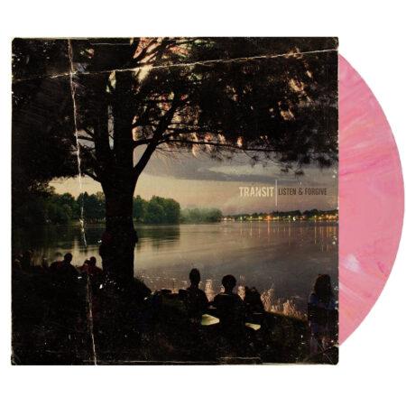 TRANSIT Listen And Forgive Pink White Vinyl