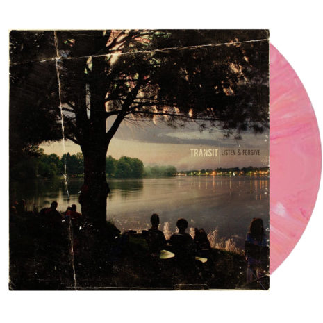 TRANSIT Listen And Forgive Pink White Vinyl