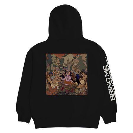 BRING ME THE HORIZON Hex PHSH Cover Hoodie Back