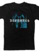 DEFTONES Static Skull Tshirt Front