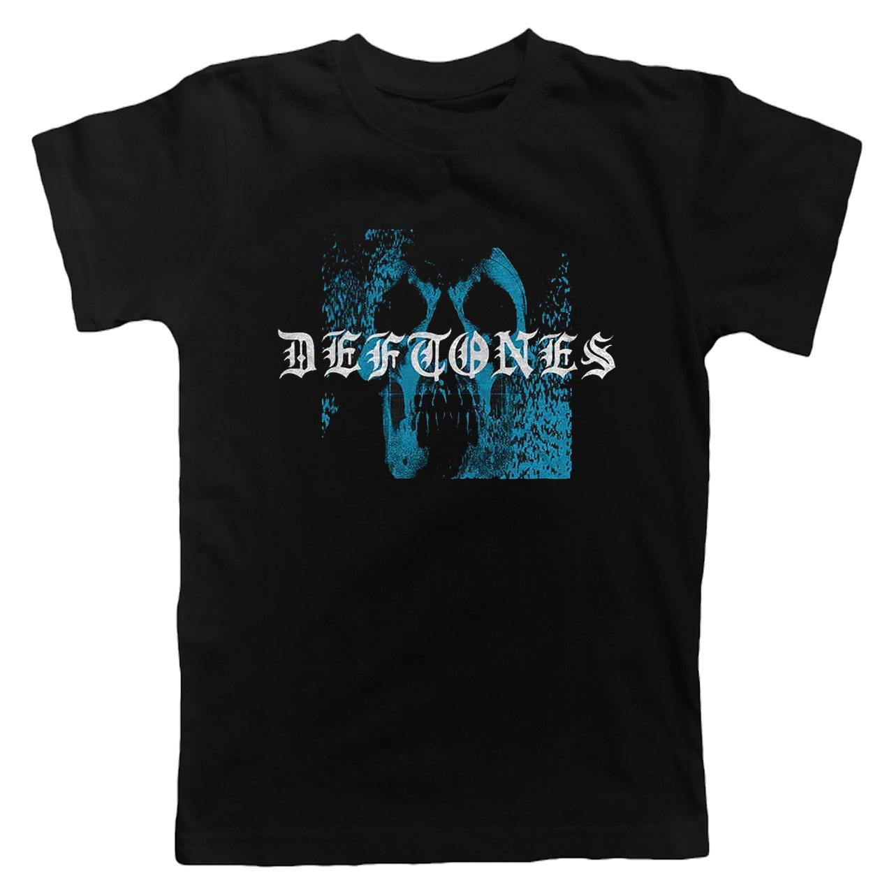 DEFTONES Static Skull Tshirt