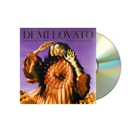 DEMI LOVATO demi lovato the art of starting over cover 1 CD