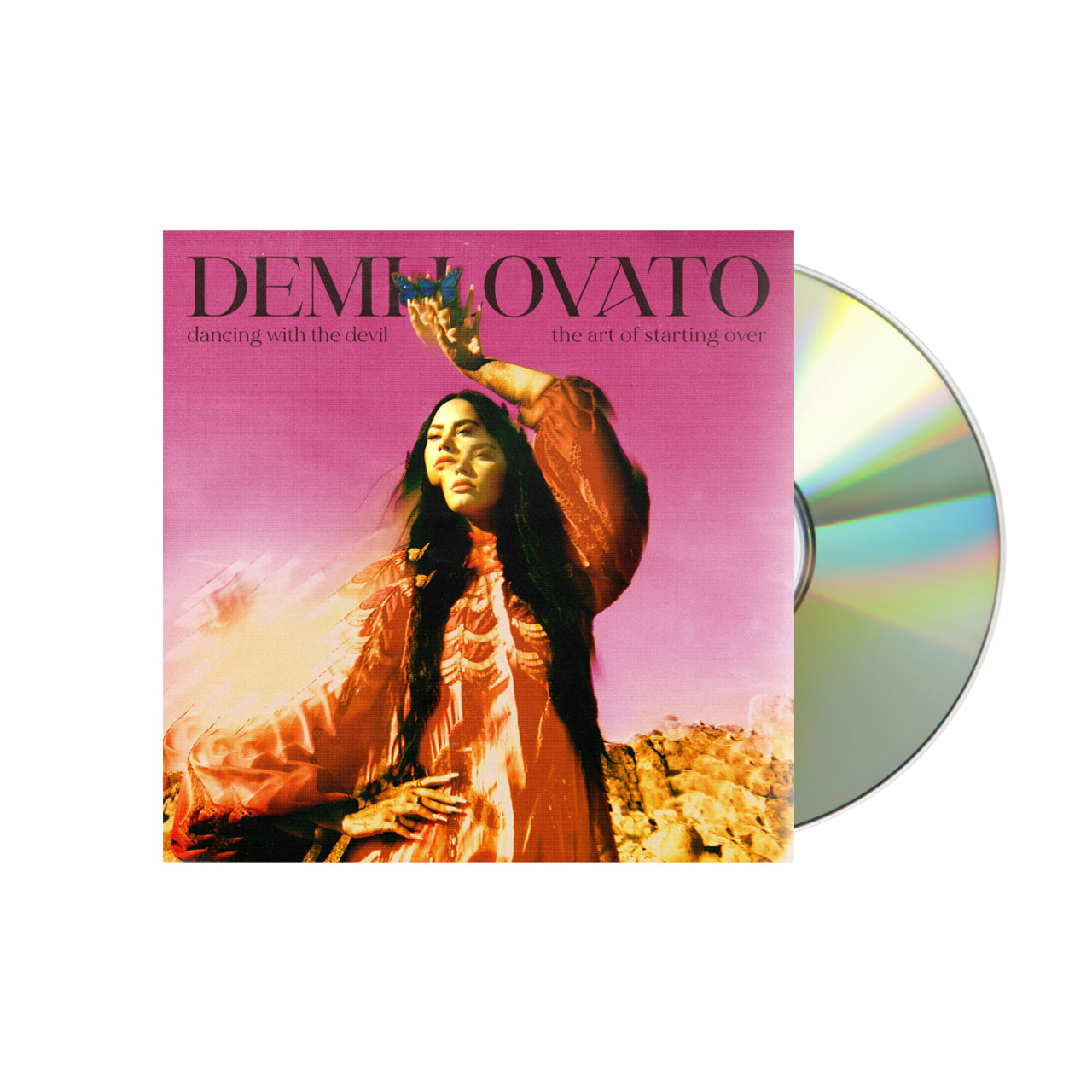 DEMI LOVATO Dancing With The Devil… The Art of Starting Over Cover 2 CD