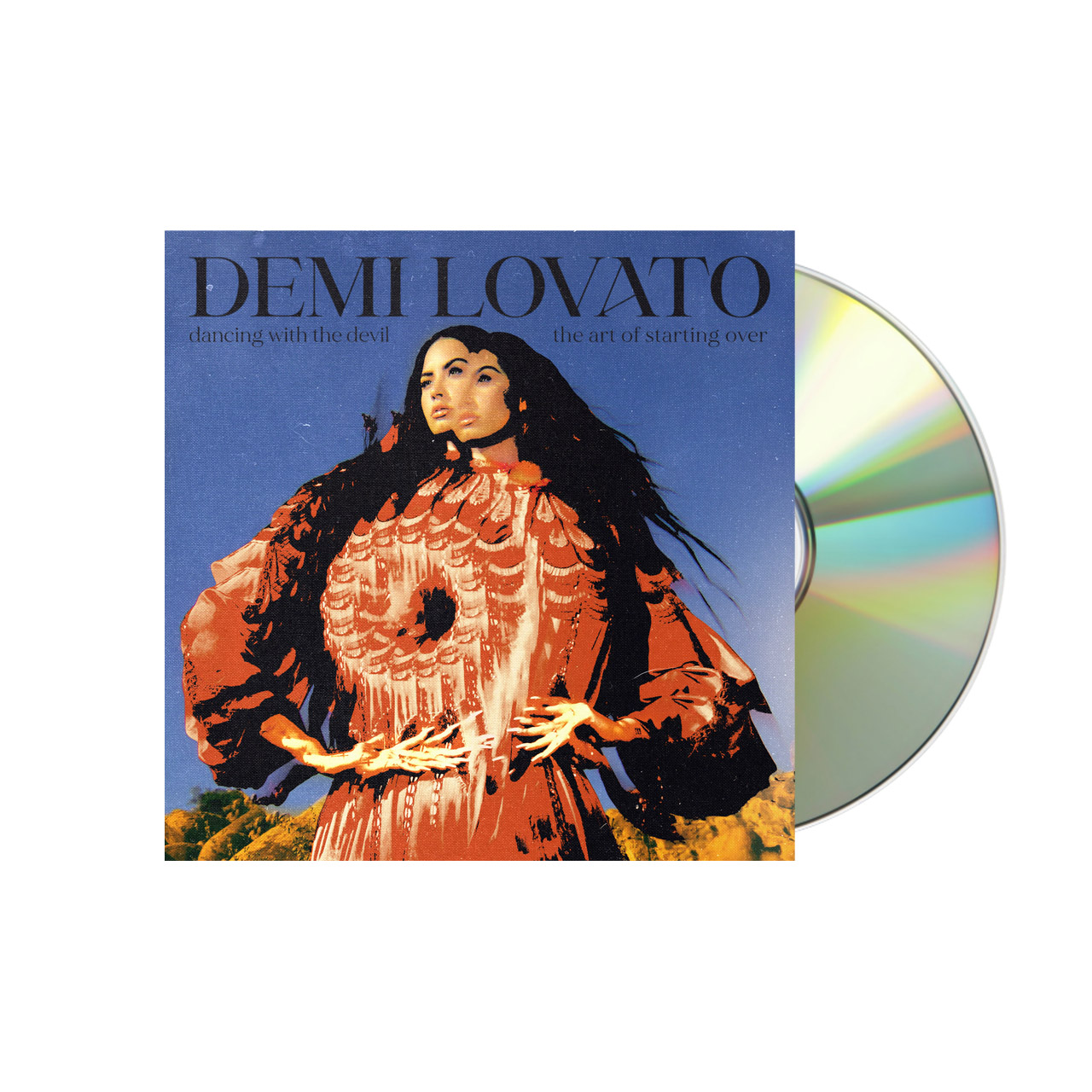 DEMI LOVATO Dancing With The Devil… The Art of Starting Over Cover 3 CD