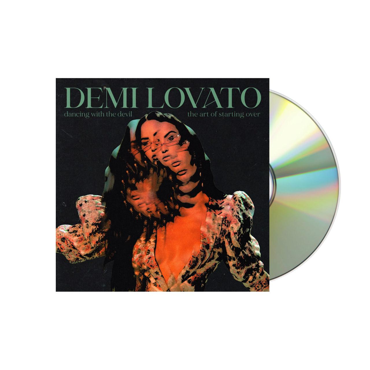 DEMI LOVATO The Art of Starting Over Black CD