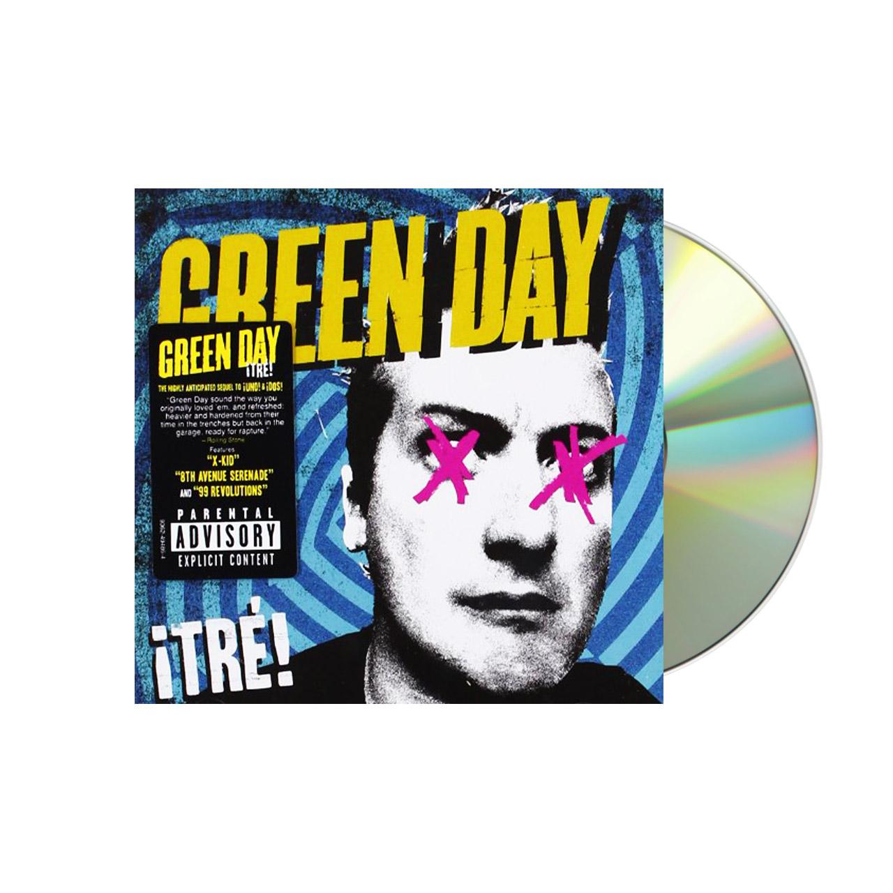 GREEN DAY Tre CD Tshirt Box Set