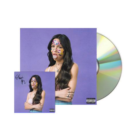 OLIVIA RODRIGO Sour Signed CD