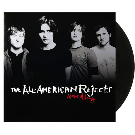 THE ALL AMERICAN REJECTS Move Along Black Vinyl