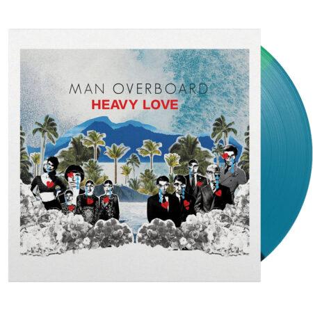 MAN OVERBOARD Heavy Love Tri-Color Vinyl