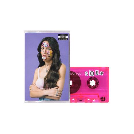 OLIVIA RODRIGO Sour Pink Cassette