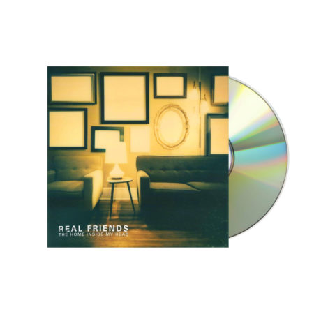 REAL FRIENDS Home Inside My Head White CD