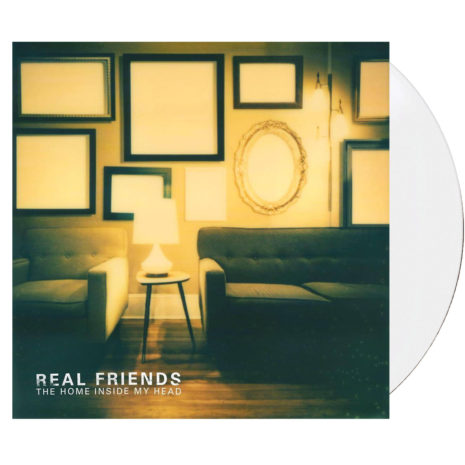 REAL FRIENDS Home Inside My Head White Vinyl