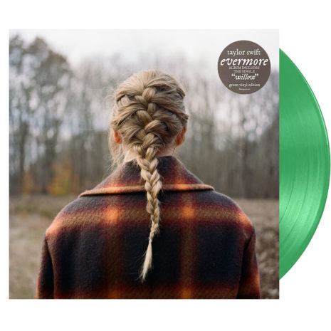 TAYLOR SWIFT evermore Deluxe Edition Green Vinyl