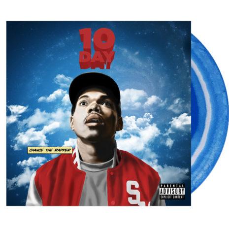 CHANCE THE RAPPER 10 Day Blue Vinyl